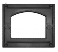 Дверка топочная со стеклом крашеная ДТ-6АС