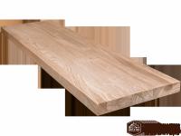 Мебельный щит (цельный) сорт А, порода: ясень