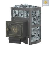Банная печь Везувий: легенда 12 стандарт дверка ДТ-3
