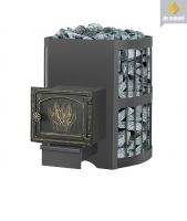 Банная печь Везувий: скиф 12 стандарт дверка ДТ-3