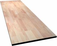 Мебельный щит (цельноламельный) сорт АВ, порода: лиственница