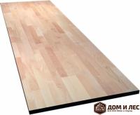 Мебельный щит (цельный) сорт А, порода: лиственница