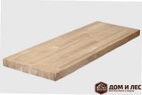 Мебельный щит (цельный) сорт С, порода: дуб