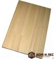 Мебельный щит (сращенный) сорт В, порода: орех