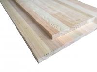 Мебельный щит (цельноламельный) сорт ЭКОНОМ, порода: лиственница