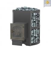 Банная печь Везувий: скиф 16 стандарт дверка ДТ-4