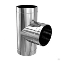 тройник-Д 90 Ф115 (нерж 0,5мм)