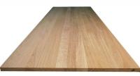 Мебельный щит (цельный) сорт В, порода: дуб