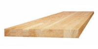 Мебельный щит (сращенный) сорт В, порода: кедр