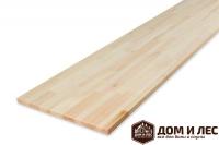 Мебельный щит (цельный) сорт С, порода: лиственница