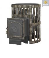Банная печь Везувий: легенда 16 ковка дверка 271