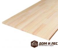 Мебельный щит (цельноламельный) сорт АВ, порода: сосна