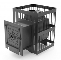 Банная печь Протопи: чугунка сетка 16