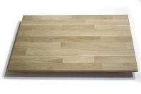 Мебельный щит (сращенный) сорт В, порода: дуб