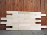 Стеновая панель, порода дерева: липа